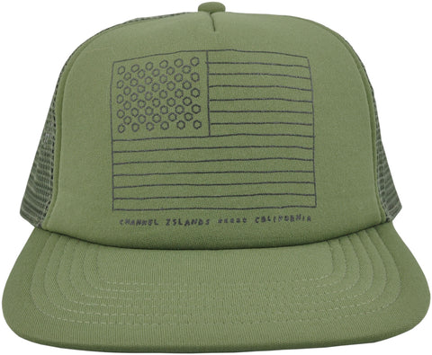 Almerica Flag Trucker