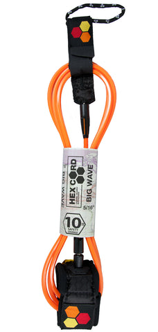 CI Hex Cord Big Wave Leash 10'