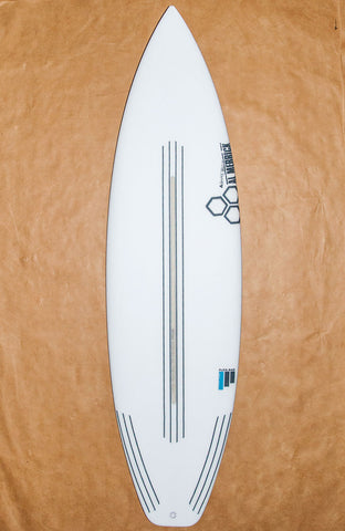 6'4 Flexbar Black and White -s2