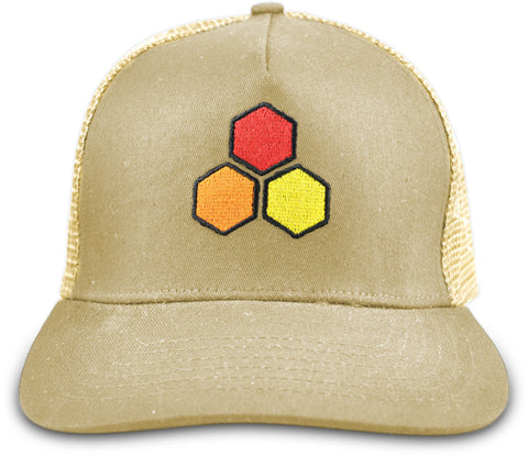Curren Hex Twill Trucker
