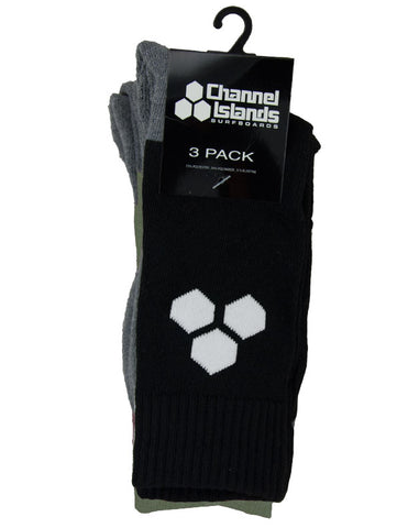 Hex Socks - 3 Pack
