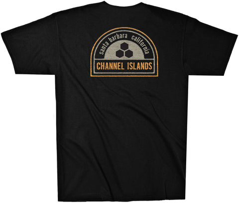 Channel Islands Surfboards - Sol Patch T-shirt (Black)