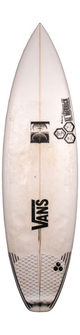 "6'0 Black and White ""Pulled"" Futures - Used Team Board"