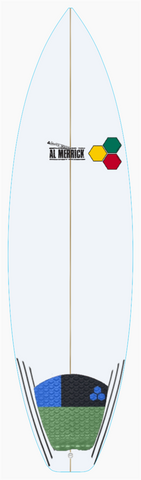 "Custom Fred Rubble 6' 2"" for Tommy Nixon"
