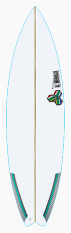 "Custom Peregrine 6' 3"" for Ian Beauchamp"