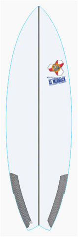 "Custom Weirdo Ripper 6' 2"" for emmett dougherty"