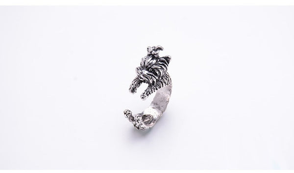Vintage Yorkshire Terrier Ring - Pelry