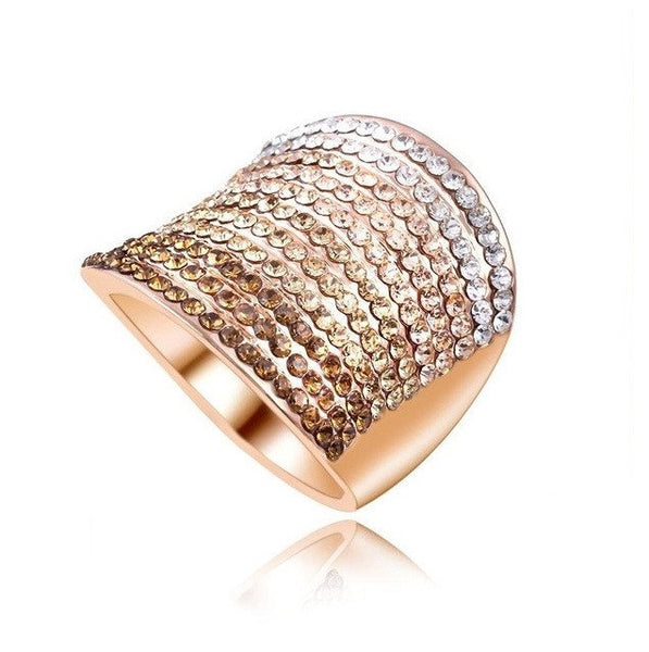 Gold Plated Charming Ring - Pelry
