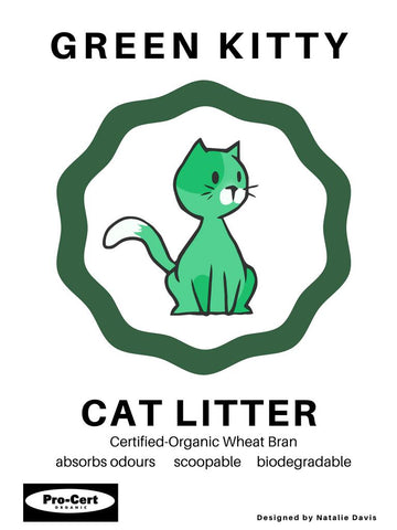 Green Kitty Cat Litter 15kg