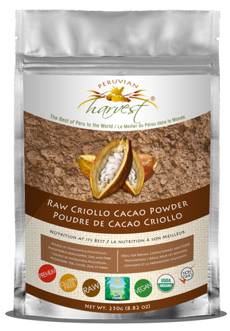 Raw Criollo Cacao Powder