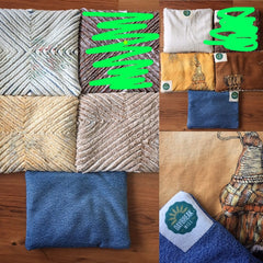 Up-cycled Heating Bags