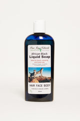 Black African Liquid Soap