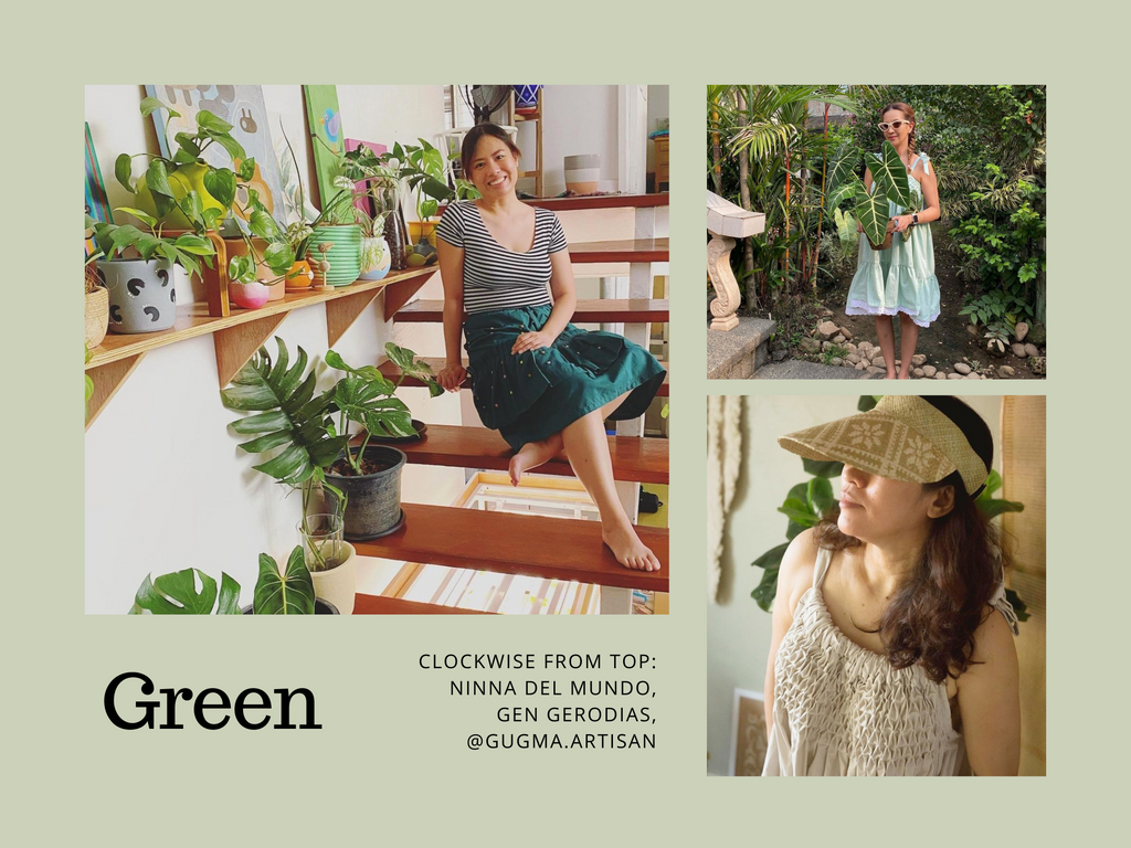clients in greenery