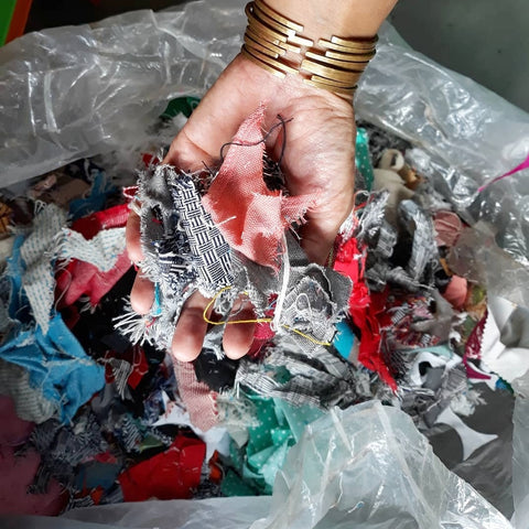 Fabric for recycling