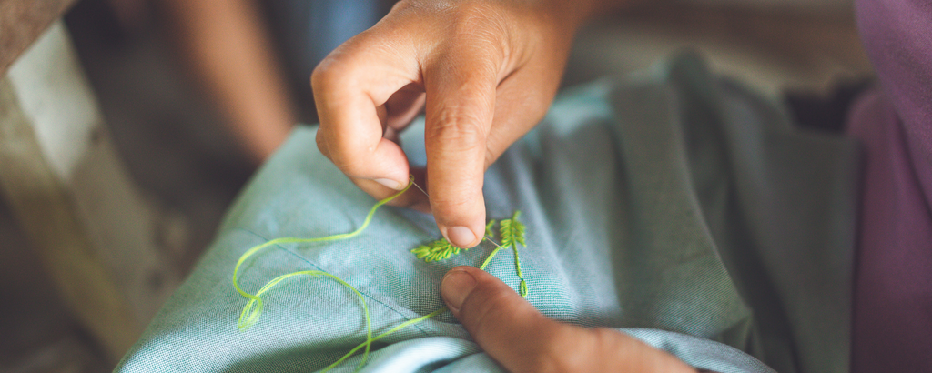 how we embroider