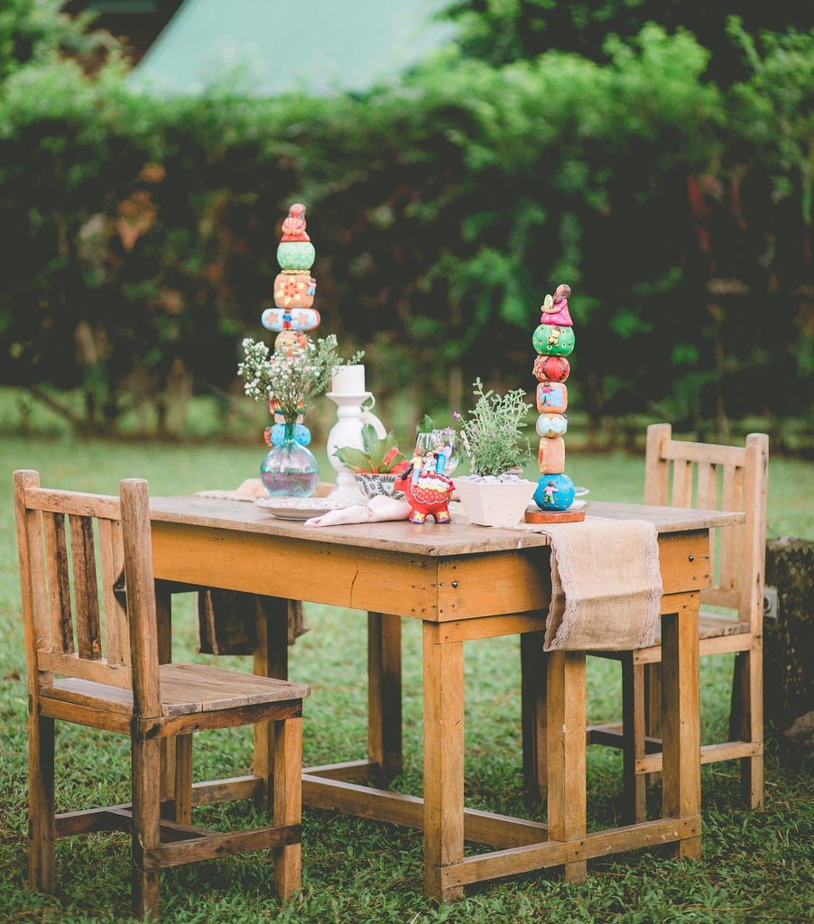 Country style tablescape