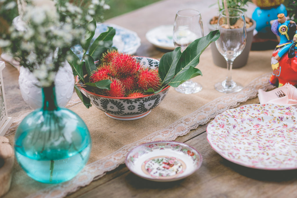 A country tablescape