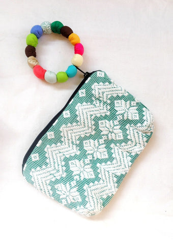 Inabel Wristlet - Green