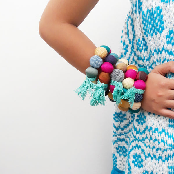 Fiesta Bangle - simple, blue