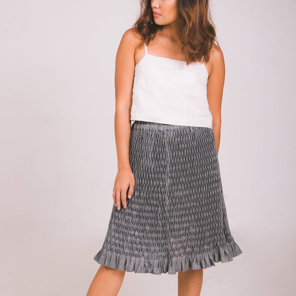 Bertie Skirt - gray