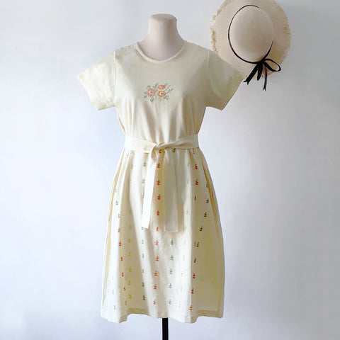 Cosmos Dress - butter yellow