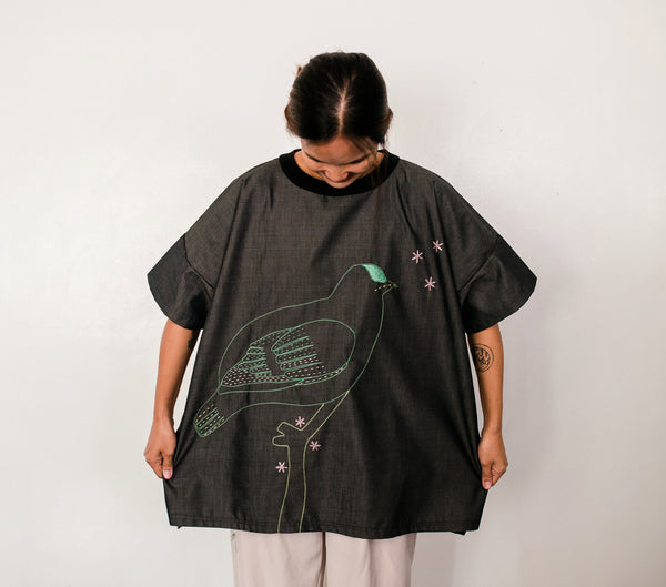 Negros Fruit Dove Unisex T-shirt no. 3