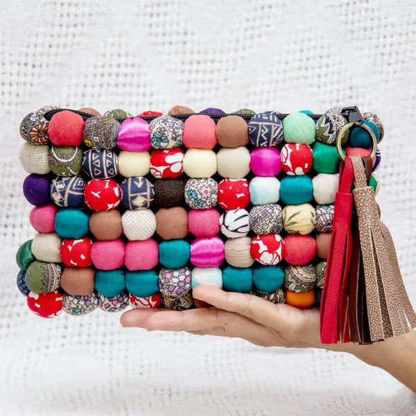RECYCLED LINE Dukesa Clutch