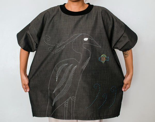 Little Egret Unisex T-shirt no. 4