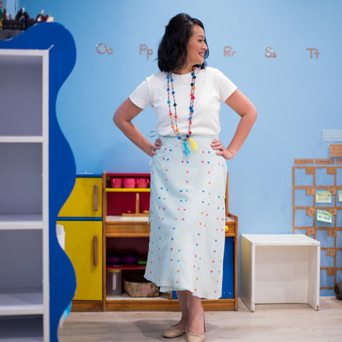 Nini Skirt - Powder Blue