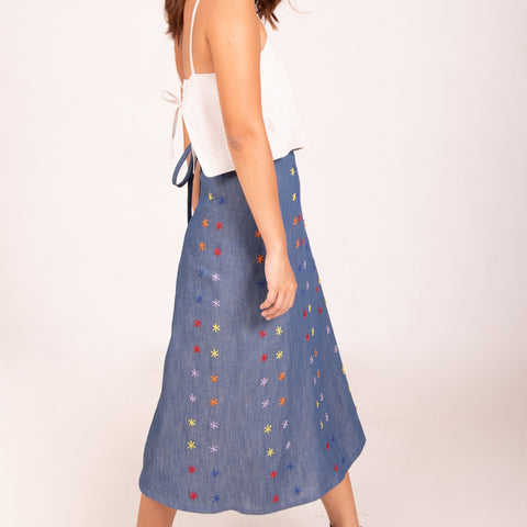 Nini Skirt - Denim