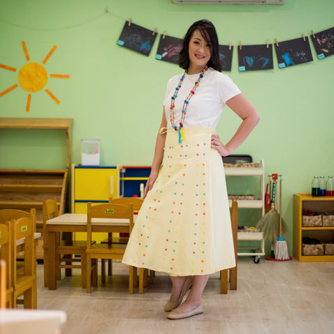 Nini Skirt - Yellow