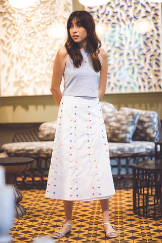 Nini Skirt - White