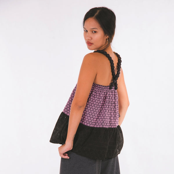Pia Top - pink inabel