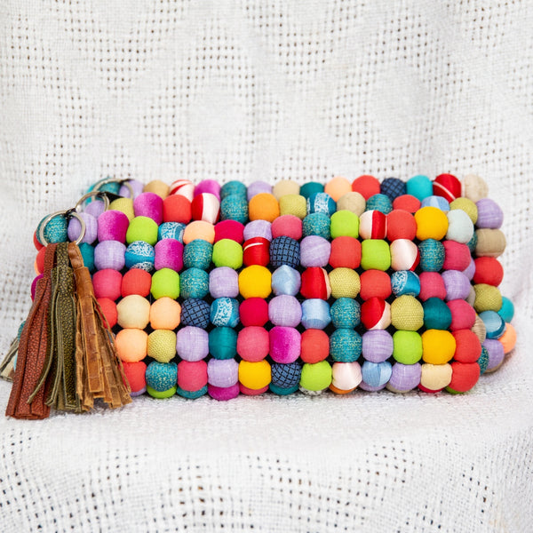 Reina Clutch in Summer Colors