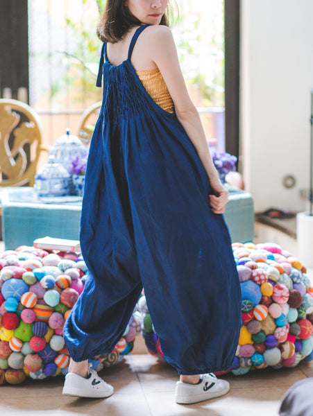 Stella Jumpsuit - navy blue