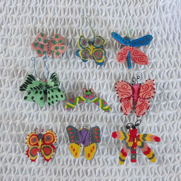 Winged Creature no. 12 - Butterfly Art Brooch