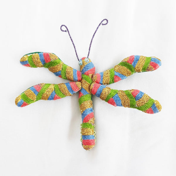 Winged Creature no. 16 - Dragonfly Art Brooch