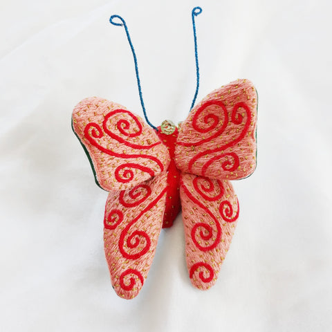 Winged Creature no. 21 - Butterfly Art Brooch