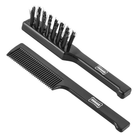 MOUSTACHE BRUSH AND BEARD COMB
