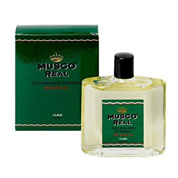 MUSGO REAL – PRE SHAVE OIL