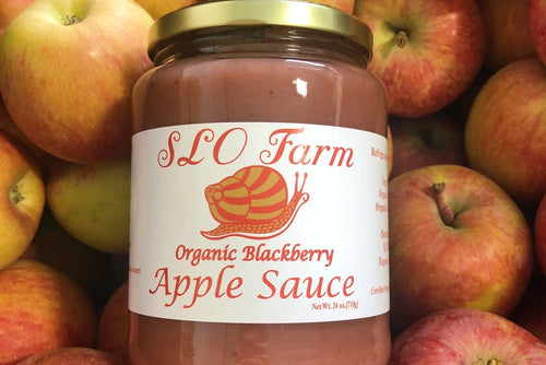 Apple Sauce-Organic Blackberry