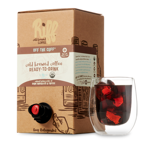 "Riff Cold Brewed Coffee Ready-to-Drink ""BIB"""