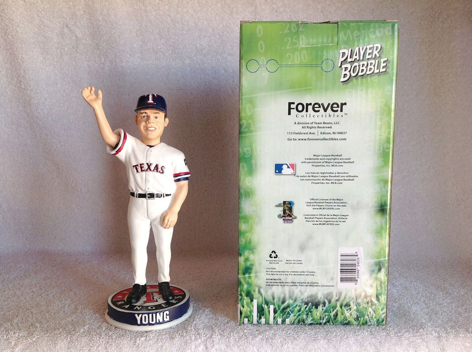 Michael Young Claw and Antlers Bobblehead - BobblesGalore