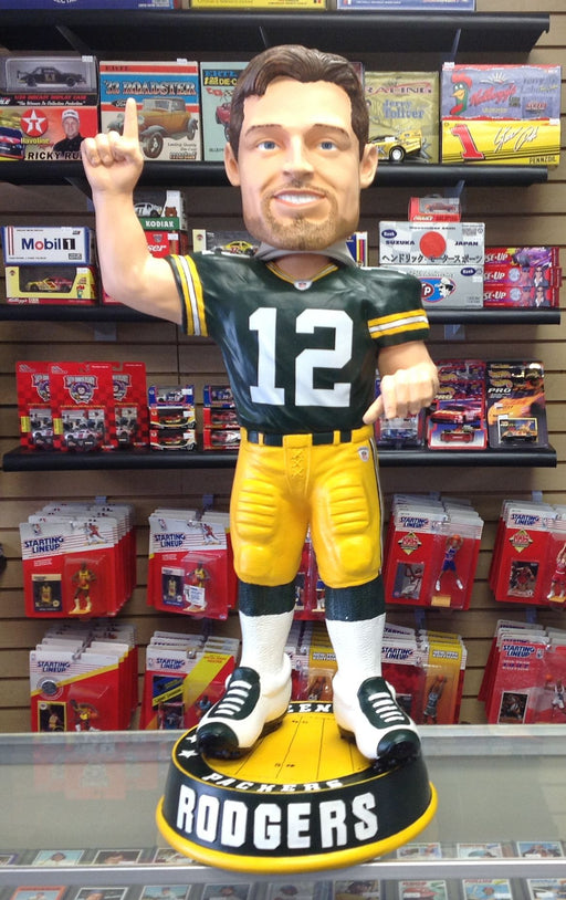 Aaron Rodgers 3 FOOT Bobblehead - BobblesGalore