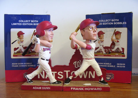 Frank Howard and Adam Dunn Bobblehead Set - BobblesGalore