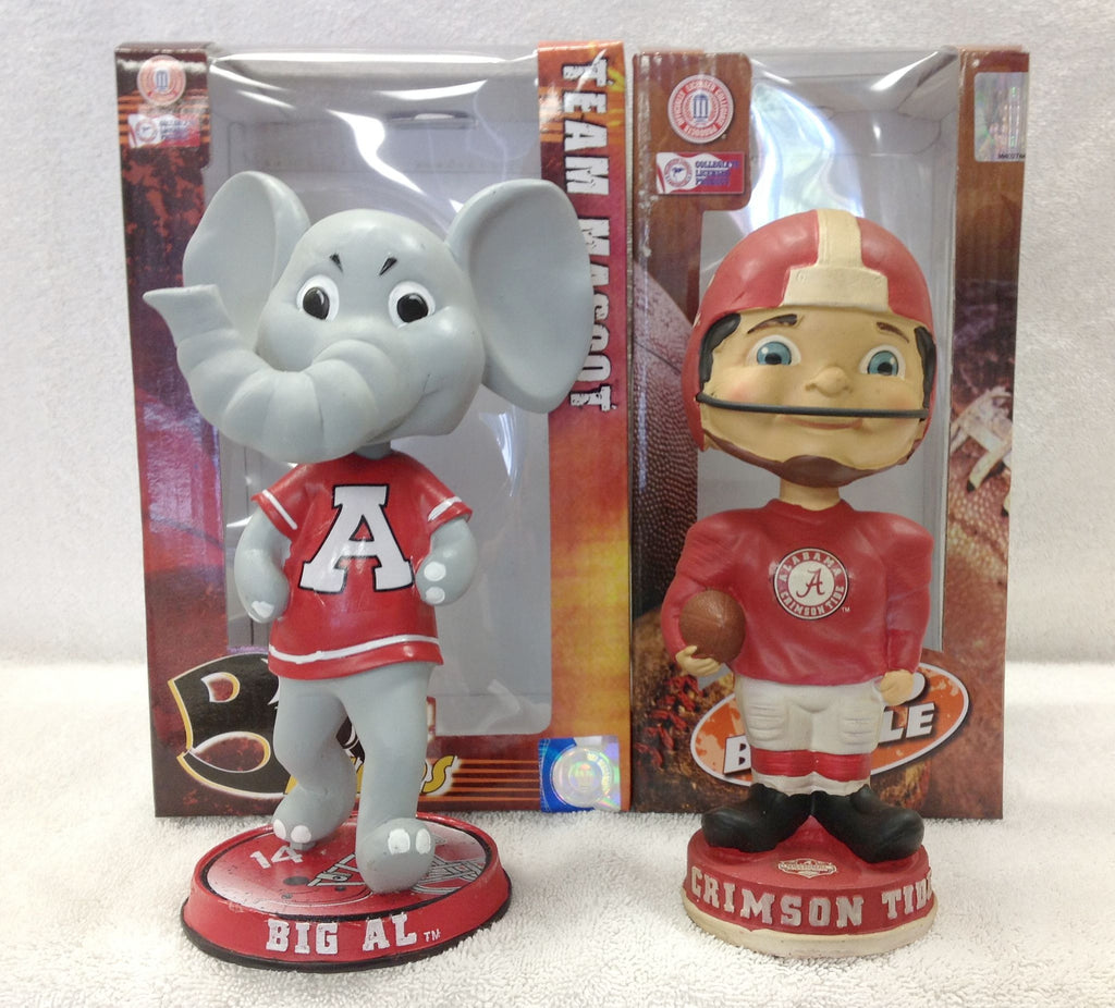 Big Al and BCS Championship Alabama Bobblehead