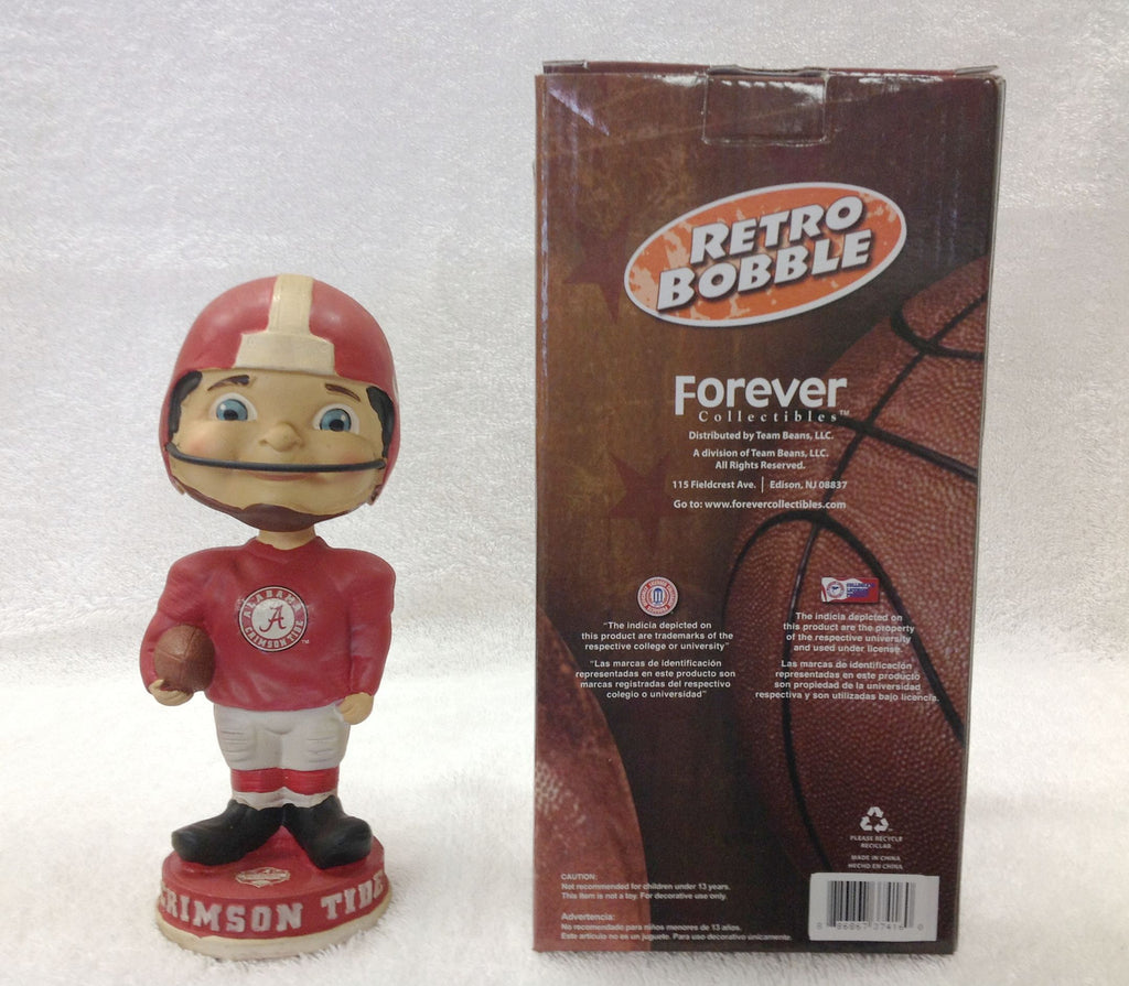 2012 BCS National Championship Boy Face bobblehead