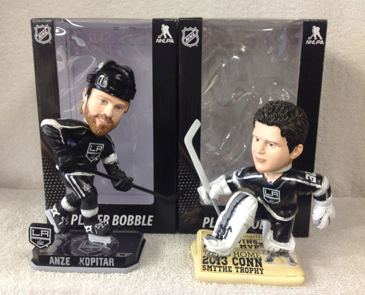 Anze Kopitar and Jonathan Quick Bobblehead Set - BobblesGalore
