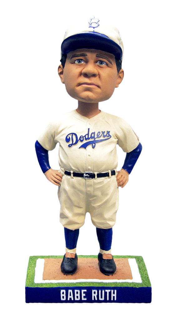 Babe Ruth Bobblehead 2014 Dodgers