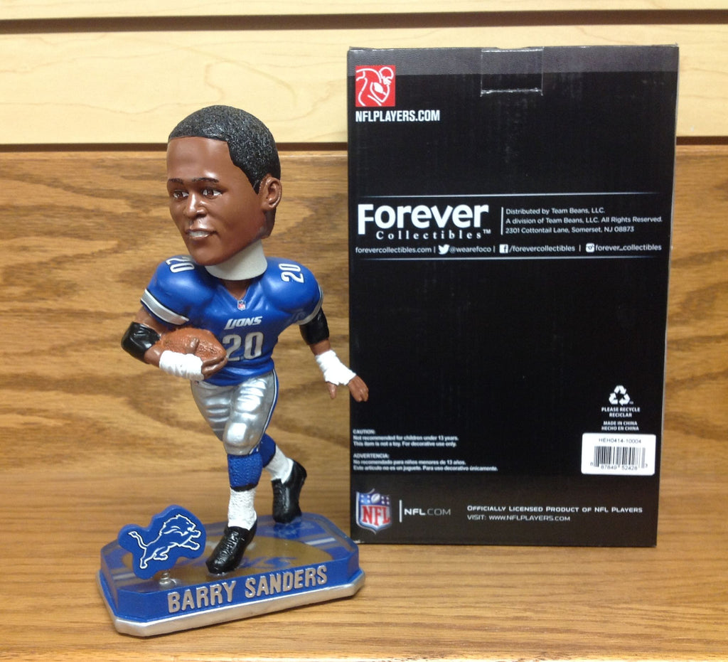 Barry Sanders Bobblehead